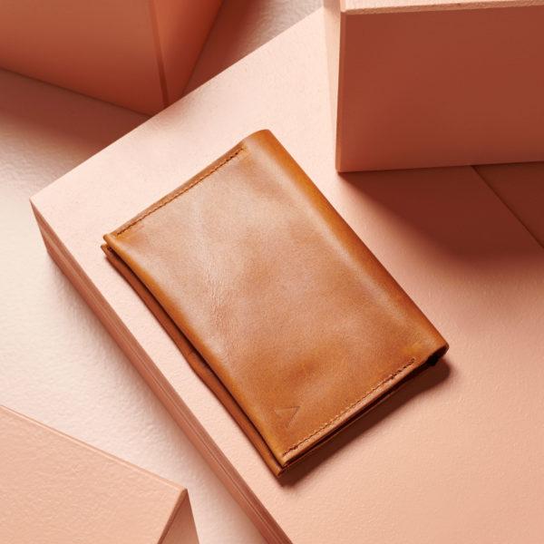 Portemonnaie OLI LARGE in cognac geölt